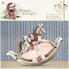 DoCrafts Christmas with Wellington Decoupage Card Kit - Rocking Horse - New!