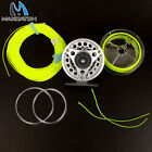 Fly Reel 3/4/5/6/7/8 WT Large Arbor Aluminum Fly Fishing Reel & Fly Line Combo