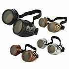 Retro Steampunk Unisex Goggles Glasses Welding Cyber Punk Gothic Costume Cosplay