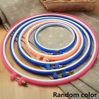 12-27cm Plastic Cross Stitch Machine Embroidery Hoop Ring Frame Sewing DIY Craft
