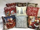 """Christmas Tapestry Cushion Covers in lots of  designs, 18""""x18"""", super quality"""