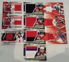 2010 11 ITG Heroes and Prospects Game Jerseys  30  100 U Pick Lot 11 12 11 12