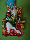 Christopher Radko Santa The Eight Glass Ornament
