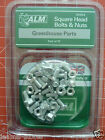 Aluminiun Square Head Bolts & Nuts GH004 by ALM