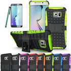 Rugged Gel Shockproof Hybrid Hard Case Cover For Samsung Galaxy S6 Edge+ Plus