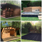 SHED BASE KIT & FREE HD MEMBRANE GREENHOUSE BASE KIT UK's BEST ECO BASE ON SALE