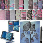 For Samsung Galaxy Note Edge Flip Wallet LEATHER POUCH Case Phone Cover + Pen