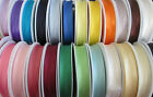 1, 3 or 5 metres 19mm SATIN BIAS BINDING 24 COLOURS TO CHOOSE FROM