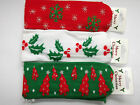 Christmas Knitted Bandeaux Headband Hair Band Xmas Design Red White Green (406)