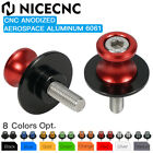 6mm Swing Arm Spools For Yamaha R1 R6 Aprilia RSV1000 Triumph Daytona 675 06-08 $7.79 USD on eBay