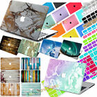 """Laptop 3D Painted Hard Case+Free Keyboard Cover for Macbook Air 11""""12"""" Pro 13 15"""