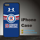 MEXICAN CRUZ AZUL Football Soccer Case Cover iPhone 4s 5s 5c se 6 6s 7 8 X #OM