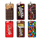 New Sweets Willy Wonka Golden Ticket Chocolate Bar Case Cover For iphone 5 5s
