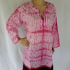 Beach Kaftan 100% COTTON Womens Size 14 - 16 Resort Wear Summer Tunic