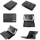 Separable Bluetooth Wireless Keyboard Stand Leather Cover Case For ipad mini 4