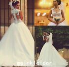 Said Mhamad Luxury Wedding Dress Beads Sequins Sweep Train Bridal Gowns