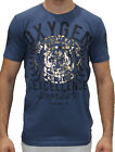 Men's Oxygen Tee Shirt in White or Navy (S,M,L,XL,2XL,3XL and 4XL) RRP $39.95
