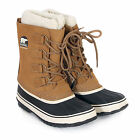 Sorel Women's 1964 Pac 2 Suede / Leather Lace-up Waterproof Boot Buff / Black