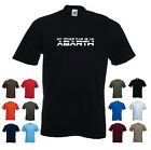 'My other car is an Abarth' Funny Mens Car Birthday Gift t-shirt