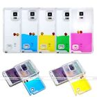 Dynamic Fish Tank Liquid Quicksand Case Cover For Samsung Galaxy S4 5 6 Note 3 4