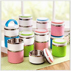 Cute Stainless Steel Bento Lunch Box Food Container Thermal Insulation Bento Box