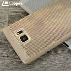 Luxury Ultra-thin Mesh Hard Back Case Cover For Samsung Galaxy Note 5 4 S6