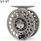 Classic Fly Reel 2 3 4 WT Clicker And Pawl Drag Aluminum Reel & Fly Line Combo