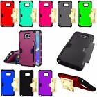 For Samsung Galaxy Note 5 Credit Card Stand Slot ID Wallet Hard Case Cover