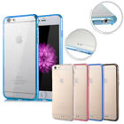 Ultra Thin Clear Crystal Rubber TPU Hard Case Cover Skin For iPhone 6 /6s / Plus
