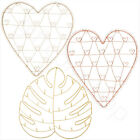 New Wire Heart Photo Holder Wedding Planner Gift Card Holder Home Decoration