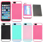 Hybrid Rugged Rubber Protective Hard Back Cover Case for Apple iPhone 6 6s Plus