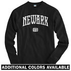 Newark 973 Long Sleeve T-shirt LS - New Jersey Devils EWR Liberty - Men / Youth $31.99 USD on eBay