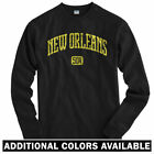 New Orleans 504 Long Sleeve T-shirt LS - NOLA Saints Pelicans MSY $29.99 USD on eBay