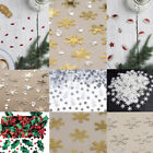 Christmas Table Confetti Table Decorations,Snowflake,Santa,Reindeer,Trees, Merry