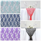"""14x108"""" Wedding LACE Flowers TABLE RUNNER Party Dinner Decorations Linens"""