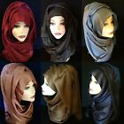 New very cute high quality shiny cotton shawl, hijab, women's scarf