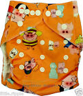Cloth Pocket Baby Nappy Diaper Reusable Adjustable Washable One Size Fits All