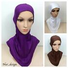 MAXI COTTON JERSEY Neck&Chest Full Cover Ninja Style Under Scarf Long hijab