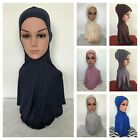 MAXI COTTON JERSEY Neck Chest Full Cover Ninja Style Under Scarf Long hijab