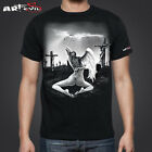 Art By Evil Reborn Unisex T`shirt Horror Art T`Shirt Tattoo Apparel Angel T`s