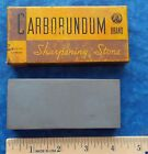 CARBORUNDUM #112 COMBINATION GRIT KNIFE SHARPENING HONING STONE IN BOX! STIDHAM