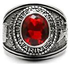 United States US Marines Mens Ring Red Size 9 12 13 14 R W Z+1 USA LTK414703E