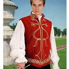 Regal / Noble Velveteen Jerkin. High Quality Costume for Stage or Re-enacment