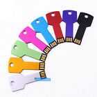 50PCS 128MB-16GB Metal Key USB Drive 2.0 Memory Flash Thumb Sticks Pendrives