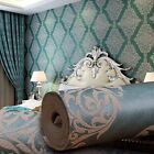 3D Wallpaper Bedroom Mural Roll Modern Background Non Woven Flocking Luxury Art
