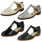 Ladies Clarks Fashion T-Bars Taylor Palm