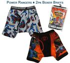 Power Rangers Jungle Fury Toddler Boys Boxer Briefs Underwear