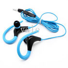 Running Gym Jogging Sport Hook On Over Ear Mic Multi Headphone Earphone Headset