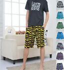 Men's Sleep Wear Cotton Pyjama Mid Shorts Sleep Shorts