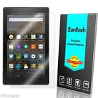 ZenTech Tempered Glass Screen Protector for Amazon Kindle Fire 6 7 8 +Stylus
